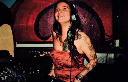 DJ in het avondzonnetje!